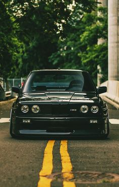 BMW e30. Love the look of these cars #BodyKits for #BMW #MSeries…