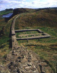 Hadrian's Wall in Northumberland Co.