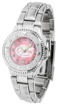 Florida Gators Men Or Ladies Competitor Steel Watch With AnoChome Dial