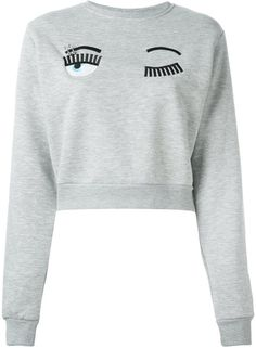 Chiara Ferragni 'Flirting' sweatshirt on ShopStyle.