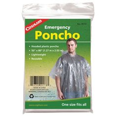 Coghlans Emergency Poncho *** This is an Amazon Affiliate link. You can get additional details at the image link.