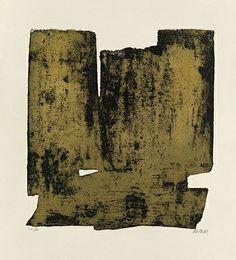 Pierre Soulages, Eau-Forte No. 12.