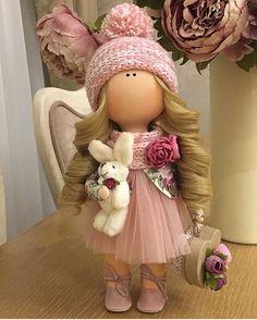 "449 Me gusta, 2 comentarios - ⠀⠀⠀Ручная работа⠀ Handmade (@planet_of_handmade) en Instagram: ""Автор: @natali_dolls ・・・ Куколка ручной работы#кукла #кукларучнойработы #текстильнаякукла…"""