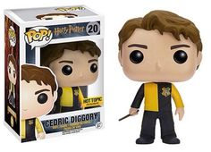 Your favorite characters from Harry Potter are adorable Pop! This Harry Potter Cedric Diggory Pop! Vinyl Figure features the former Triwizard Champion, holding his wand at the ready. Figurine Pop Harry Potter, Harry Potter Pop Figures, Harry Potter Pop Vinyl, Objet Harry Potter, Funko Harry Potter, Hot Topic Harry Potter, Pop Vinyl Figures, Hogwarts, Fans D'harry Potter