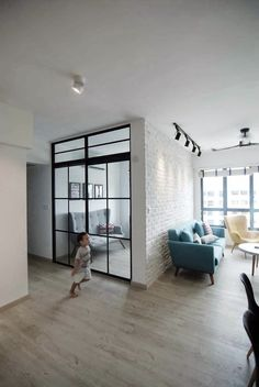 High End Resilient Flooring (HERF) - Amsterdam Eggshell Design. HERF is safe to use for residential and commercial properties especially for children and elderly at home. It has a slip resistance property where the kids can enjoy running around the house during playtime.