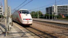 Treni Veloci - Stazione di Padova Italy. 2016