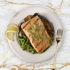 "The Golden Fork Award for ""Best in Sea"" goes to: Grilled Salmon with Dill Mustard Sauce! 🍴✨ ""Salmon with dill mustard sauce was excellent! I haven't had salmon that hasn't been great since starting the program."" – Marcheta D. Beef Mushroom Stroganoff, Beef With Mushroom, Cookie Crunch, Real Food Recipes, Healthy Recipes, Salmon Dishes, Vegetable Stew, Balanced Meals, Weight Loss Meal Plan"