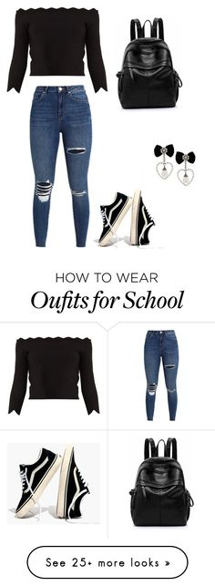 """Simple school girl"" by micaiahd42 on Polyvore featuring Madewell and Alexander McQueen"
