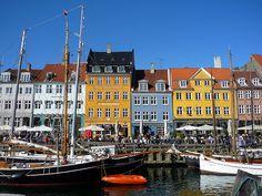 Nyhavn, Copenhagen on a nice summer day :)