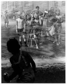 Heat wave Chicago, 1947 Wayne Miller