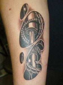 biomechanical tattoos 26