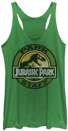 Fifth Sun Jurassic Park Women Staff Icon T-Rex Skeleton Tri-Blend Tank Top 30th Birthday Themes, Park Birthday, Second Birthday Ideas, Dinosaur Birthday Party, 6th Birthday Parties, Third Birthday, Birthday Party Decorations, Jurassic Park Party, Movie Facts