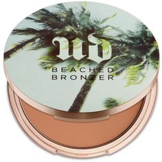 Urban Decay Sun-Kissed Beached Bronzer ($30) ❤ liked on Polyvore featuring beauty products, makeup, cheek makeup, cheek bronzer and urban decay