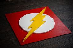 Superhéroe Flash arte de la pared arte de pared de