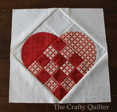 Nordic Heart Block Tutorial | FaveQuilts.com