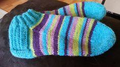 Olen jo pitkään katsellut eri facebook ryhmistä, kun ihmiset on tehneet villasukkia, nilkka mallisina. Minä ajattelin myös kokeill... Knitting Socks, Knitted Hats, Wool, Facebook, Patterns, Ideas, Fashion, Knit Socks, Knit Hats