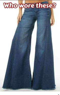 Monster bell bottom jeans in the were so groovy! My Childhood Memories, Sweet Memories, 70s Fashion, Vintage Fashion, My Youth, Thats The Way, My Memory, Bell Bottoms, Bell Bottom Jeans