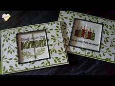 Changing Image Card mit Stampin' Up! Freude im Advent - YouTube