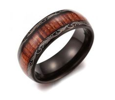 Vintage accessories are practically the most ironic of the jewelries. They never get old! Channel your classics and old souls with this vintage ring with a wood inlay. The unique look of this ring is