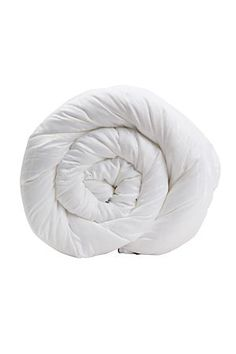 """Our microfibre duvet inner is super soft, offering warmth without weight. This duvet inner has a fluffy look and luxurious drape, with the added benefit of being non-allergenic. The high quality casing is a microfibre with a dobby jacquard weave.<div class=""""pdpDescContent""""><BR /><BR /><b class=""""pdpDesc"""">Fabric Content:</b><BR />100% Polyester<BR /><BR /><b class=""""pdpDesc"""">Wash Care:</b><BR>Lukewarm machine wash</div>"""