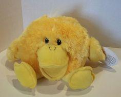 Chrisha Playful Plush Yellow Singing Quacking Duck Hand Glove Puppet 1988  #Chrisha