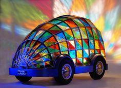 Das Auto der Zukunft von Dominic Wilcox  - http://freshideen.com/art-deko/kunst/das-auto-der-zukunft.html
