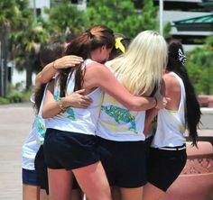 Delta Delta Delta at Florida Gulf Coast University #DeltaDeltaDelta #TriDelta #BidDay #sorority #FGCU