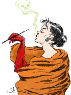 """I live for furs, darling; I worship furs!"" Cruella de Vil, the early years | Anne Kelley"