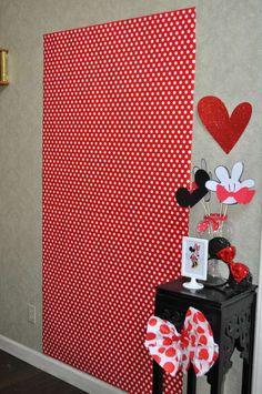 Mickey Mouse Ideia para fundo de foto com adereços