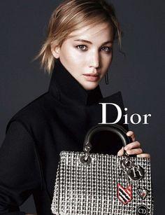 En fotos: Jennifer Lawrence protagoniza la nueva campaña de bolsos de Dior