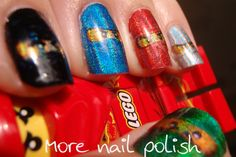 ninjago nails o lord my lil daddy will go nuts if i got these nails