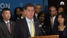 Boston Mayor Marty Walsh says President Trump should focus more on creating jobs and addressing urban issues such as homelessness.