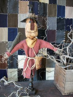 Scarecrow Make-do Instant Download Epattern