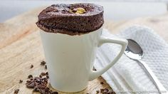 This 1 Minute vegan cake in a mug recipe uses a few simple ingredients. Indulge your sweet tooth with a single serve cake that tastes rich & decadent.
