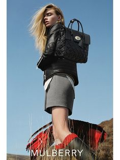 Cara Delevingne by Tim Walker for Mulberry Fall/Winter 14