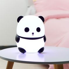 While looking for a lamp for your house, the number of choices are nearly limitless. Discover the most suitable living room lamp, bed room lamp, desk lamp or any other type for your specific place. Cute Night Lights, Led Night Light, Lampe Led, Led Lamp, Hemnes, Room Ideas Bedroom, Bedroom Decor, Panda Love, Kids Lighting
