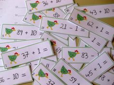jeu: calculs +1 -1 +10 -10 Math Projects, Math Centers, Coloring Pages, Crafts, School, Cycle 2, Jouer, Aide, Logo