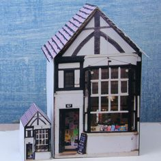 Printable Miniatures for Dollhouses, Model Scenes or Dioramas