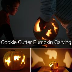 We Tried It! - Cookie Cutter Pumpkins - Modern Parents Messy Kids