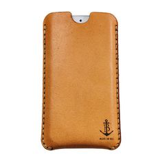 iPhone 5 Sleeve by Black Anchor Workshop #luvocracy #anchors #design #iphonecase