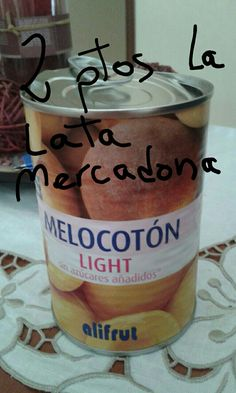 Lata melocotón light Mercadona Dunkin Donuts Coffee, Coffee Cups, Food And Drink, Drinks, Food Items, Products, Sweet And Saltines, Diets, Food