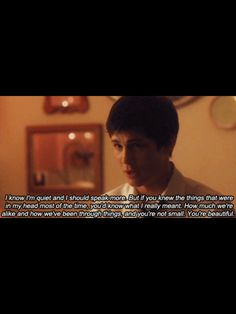 words from Perks of Being a Wallflower