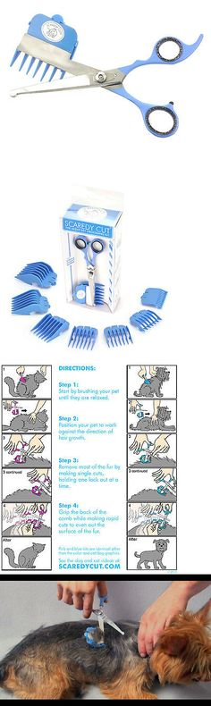 Cat Lover Products 117422: Scaredy Cut Gentle Pet Grooming Kit For The Sensitive Cats, Blue -> BUY IT NOW ONLY: $35 on eBay!