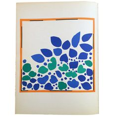 "Henri Matisse Original Lithograph ""Lierre"" 1954 by BaiyinaHughley on Etsy https://www.etsy.com/listing/261546628/henri-matisse-original-lithograph-lierre"