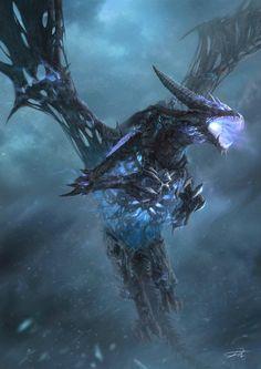 Warcraft Fan Art Gallery - Sindragosa