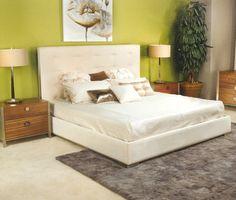 Elite - Brittany Platform Bed - Eastern King Size (9021EK)--Lifestyles
