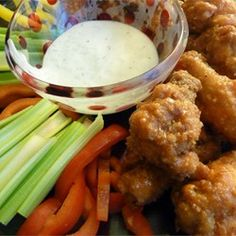 Delish and easy. Made these tonight. Only let sit for 20 minutes and still turned out great. Family said it tasted like Zaxbys. Restaurant-Style Buffalo Chicken Wings - Allrecipes.com