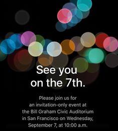 Appleは9月7日に次世代iPhoneを発表する