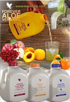 Order RAW Aloe Vera gel at www.nina49.flp.com
