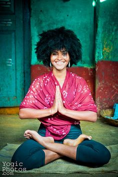 Deveraja Market, Mysore India Padmasana / Lotus Pose Christine Hewitt, Yoga Photography www.yogicphotos.com